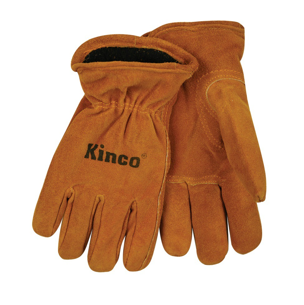 Kinco Kids Glove Suede Cowhide Lined Glove