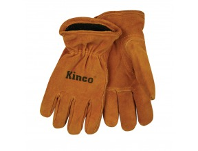 Kids Glove Suede Cowhide Lined Glove LG