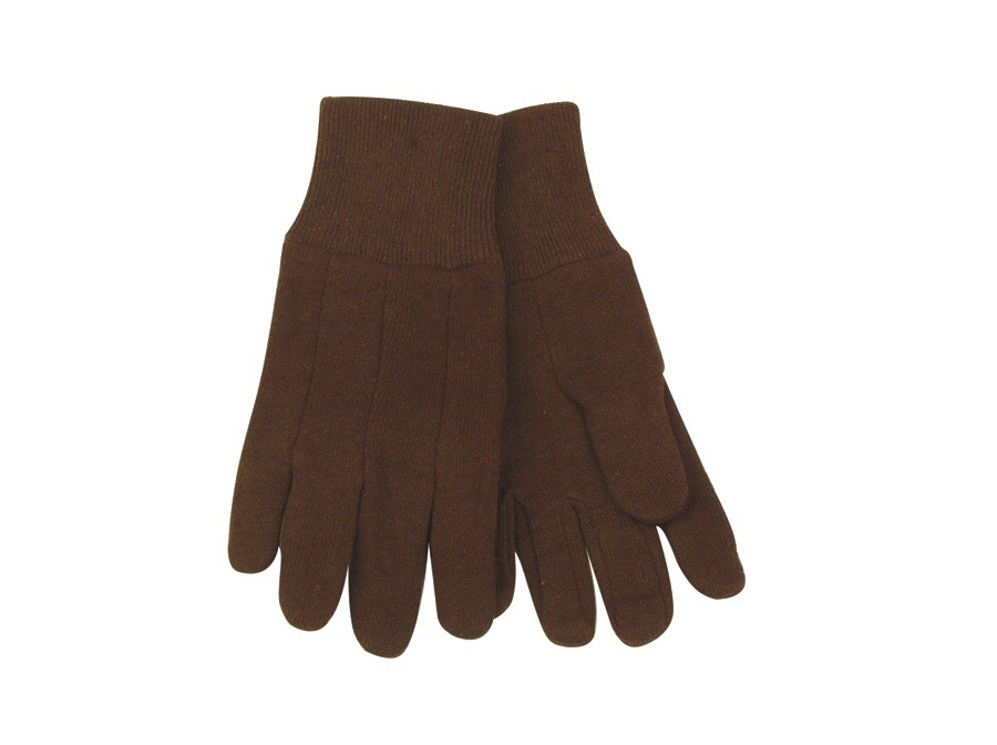 Kinco Kids Glove Brown Jersey