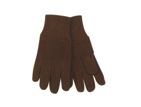 Kids Glove Brown Jersey