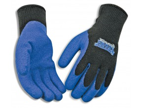 Mens Glove Blu Latex Frostbreaker MD