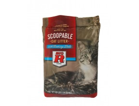Big R Cat Litter 40# Scoopable