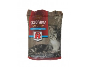 Big R Cat Litter 25# Scoopable