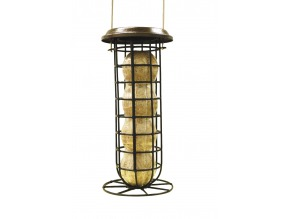 Mesh Suet Ball Feeder with Roof