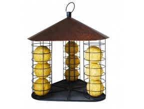 Fly Through Suet Ball Feeder