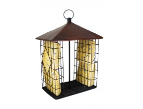 Fly Through Suet Cake Feeder