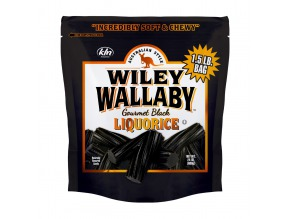 Wiley Wallaby Black Liquorice 24 oz
