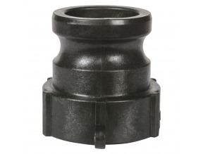 "1-1/2"" Part A Male Cam & Groove Adapter — Polypropylene"