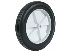 "10 x 175 Plastic 2-1/16"" Centered Hub Wheel"