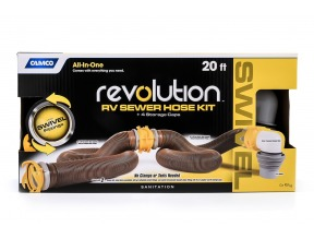 360 Revolution 20' HD Sewer Hose Kit