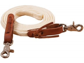 1/2″ X 7′ Poly Braided Roping Reins
