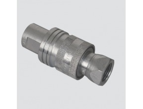 "1/2"" Female Pipe Thread x 1/2"" Body Two-Way Sleeve Hydraulic Quick Disconnect (S40-4)"