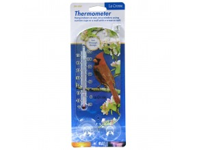 "8"" Window Thermometer - Cardinal"