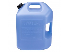 6 Gallon Blue Water Container