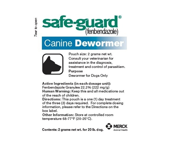 Safe Guard Paste Canine De-Wormer 2 GM