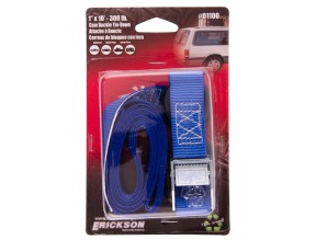 "1"" x 10' Light Duty Cam Strap 300 lb rated"