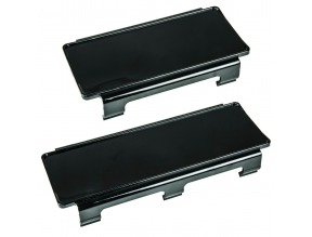 "Light Bar Covers 4"" Black 2 Pack"