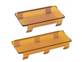 "Light Bar Covers 4"" Amber 2 Pack"