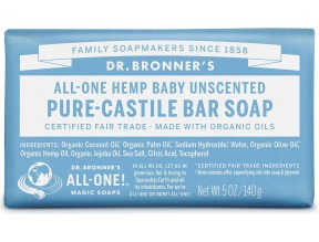 Dr. Bronner's Solid Castille Soap Bar