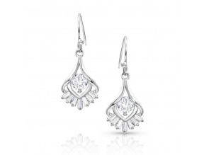 Montana Silversmith's Star's Burst Drop Earrings