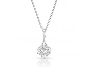 Montana Silversmith's Star's Burst Drop Necklace
