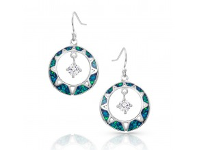 Montana Silversmith's Stay True Opal Earrings