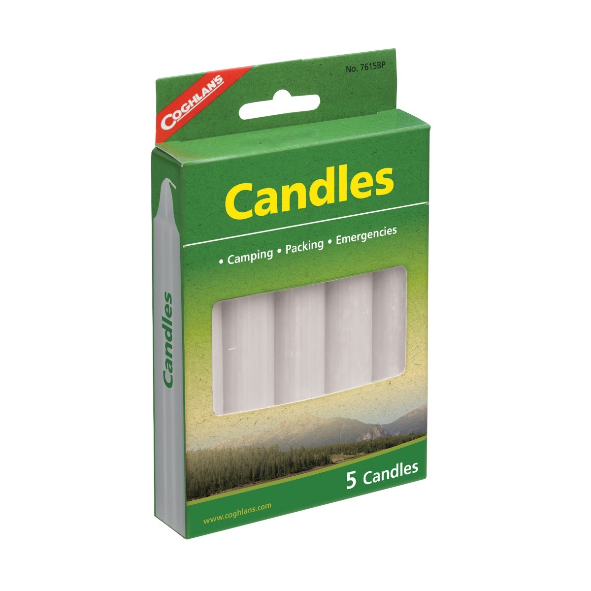 Coghlan Candles 5 Pack