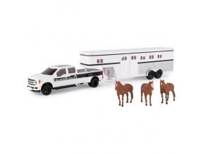 1:32 Ford F-350 Pickup with Trailer/Horses