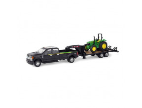 1:32 Ford F-350 John Deere 5075E And 5th Wheel Trailer