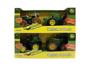 John Deere Monster Treads Toy Vehicles, 5-In., 2-Pk.