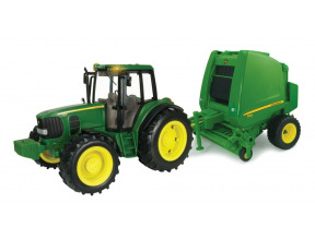 1:16 Big Farm John Deere Tractor And Baler