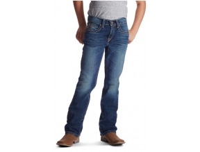 Ariat Boys B5 Slim Boundary Stackable Straight Leg Jean