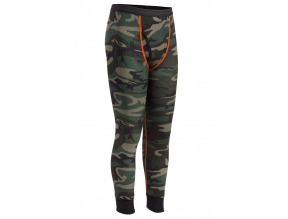 Indera Youth Woodland Camo Thermal Bottom