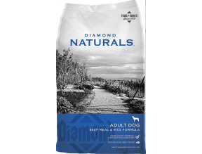 Diamond Naturals Beef Meal & Rice Formula Adult Dry Dog Food 40lb