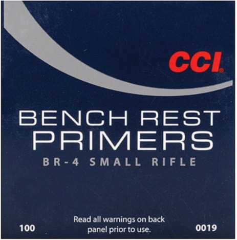 CCI BR4 Small Rifle Primers 100 Pack