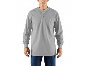 Carhartt Men's Flame-Resistant Force® Long-Sleeve Henley