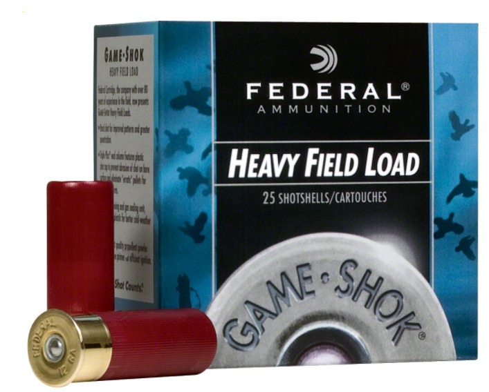 Federal Premium Game Shok Upland Heavy Field Load 12 Gauge Shotshells #5
