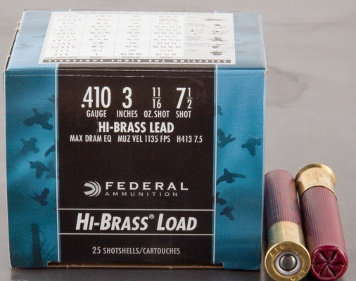 Federal Premium Game-Shok Hi-Brass .410 Bore #7.5