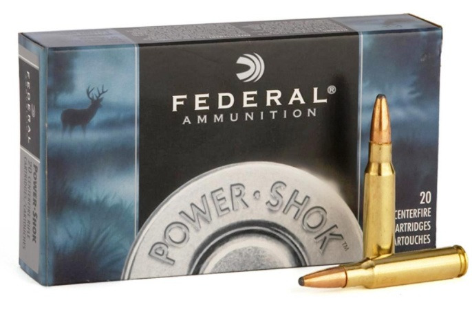 Federal Premium Power-Shok .270 Winchester 150 Grain Soft Point Round Nose