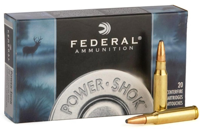Federal Premium Power-Shok .300 Winchester Magnum 180 Grain Jacketed Soft Point