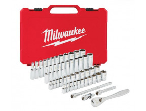 "Milwaukee 1/4"" Drive SAE & Metric Ratchet & Socket Set"