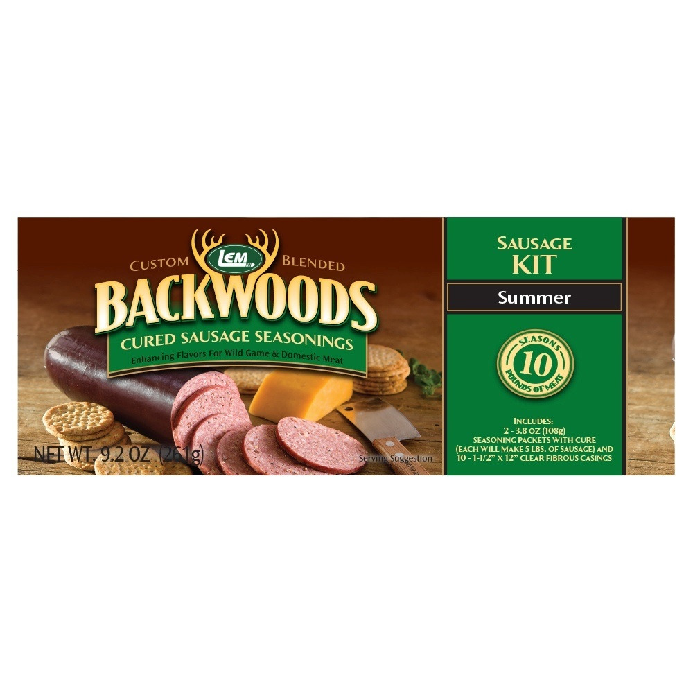 LEM Backwoods Summer Cured Sausage Seasonings Kit