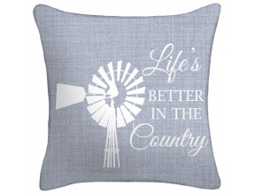 Jordan Life is Better in the Country Toss Pillow