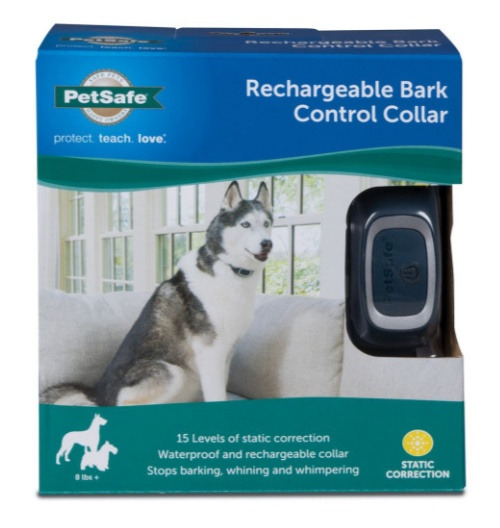 PetSafe Rechargeable Bark Control Collar Box