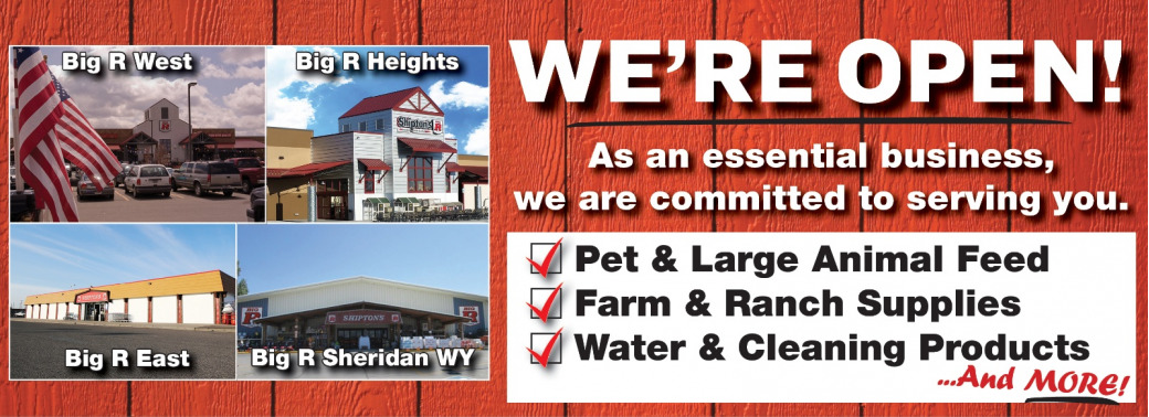 We're committed to serving you!